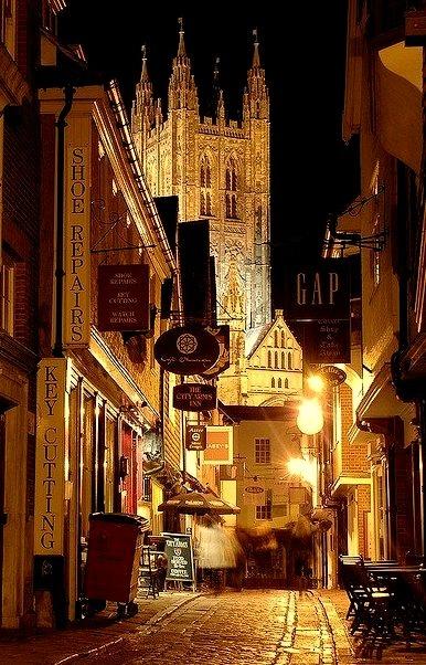 Late Night, Canterbury, England