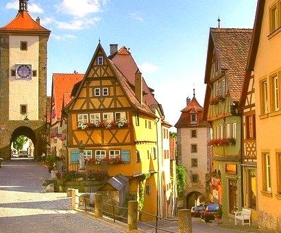 Scenic Village, Rothenburg, Germany