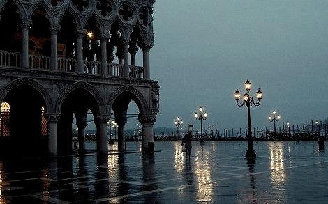 Rainy Morning, Venice, Italy