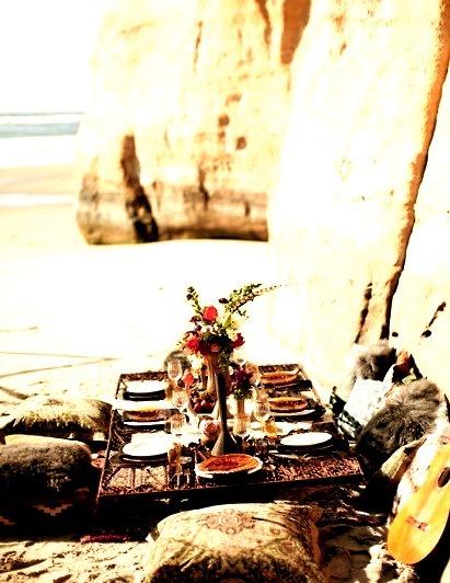 Beach Picnic, Torrey Pines, California
