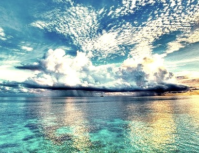 Ocean Showers, The Maldives Islands