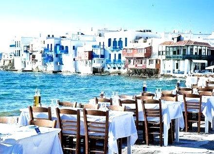 Seaside, Mykonis, Greece