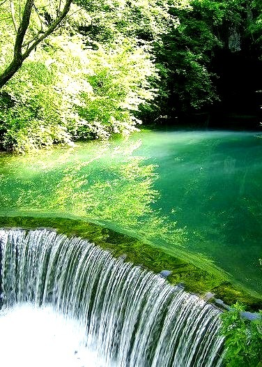 Waterfall, Krupaj, Serbia