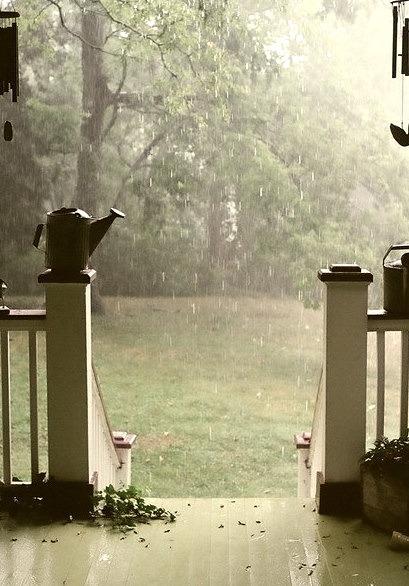 Summer Rain Porch, Brentwood, Tennessee