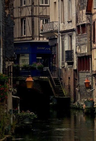 Riverside, Normandy, France